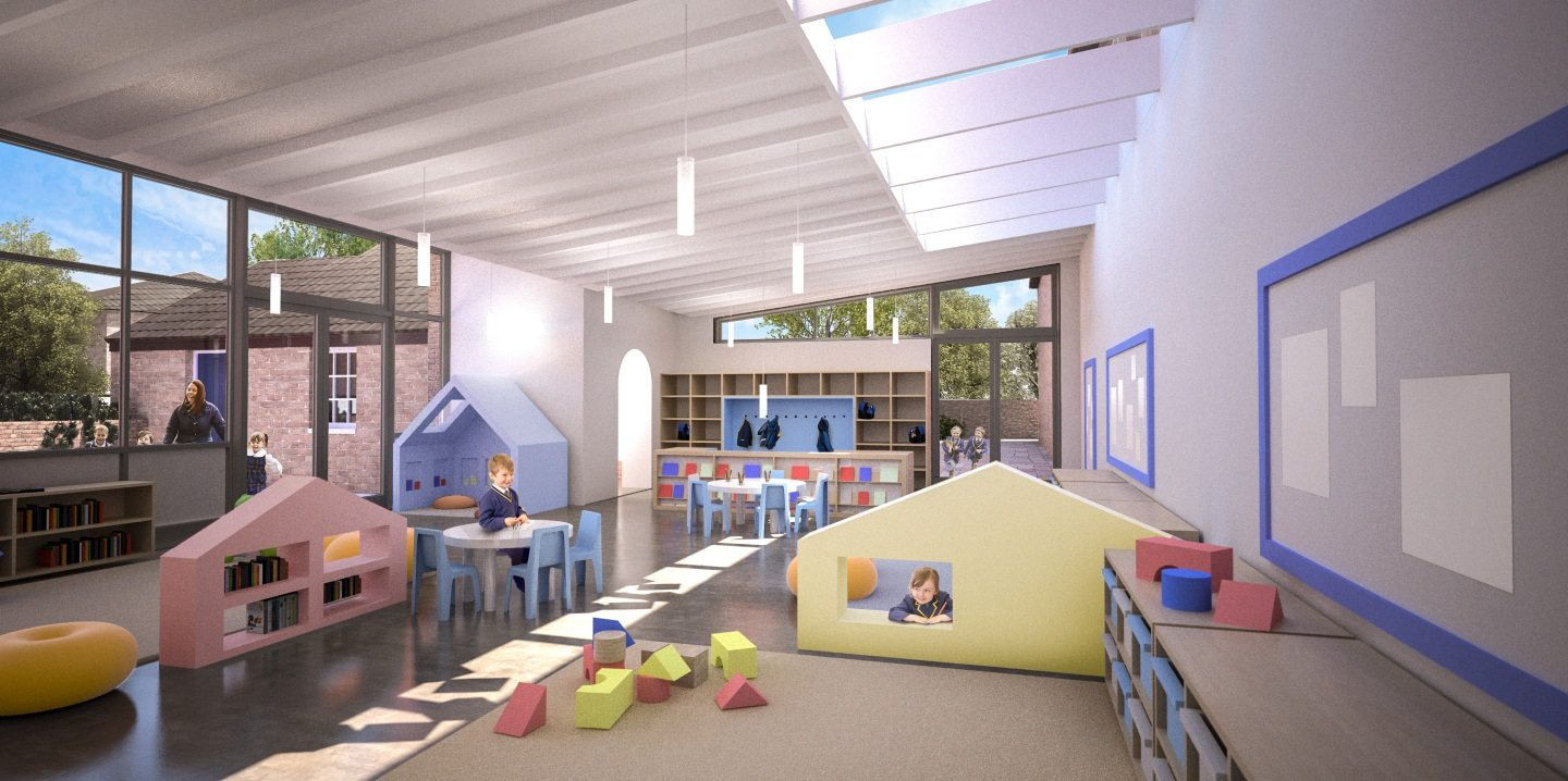The interior of our new nursery in Gosfield Essex